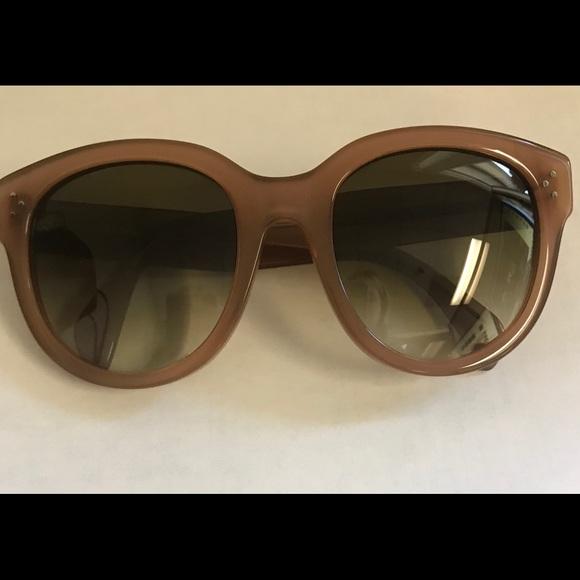 ac68ff4d100d Celine Accessories - Celine Audrey Opal Brown Sunglasses